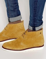 Base London Cobden Suede Chukka Boots