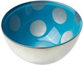 Sheridan Silver & Blue Polka Dot Condi Bowl