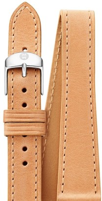 Michele Leather Watch Strap/18MM