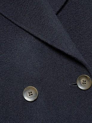 Marina Rinaldi, Plus Size Tazzina Double Wool Oversized Coat