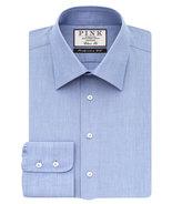 Thomas Pink Duke Plain Classic Fit Button Cuff Shirt