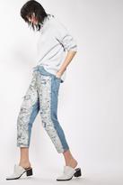 Topshop Hayden Ariel Shimmer Boyfriend Jeans (Regular & Petite)