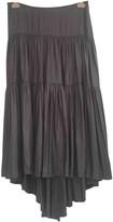 L'Agence Anthracite Skirt for Women