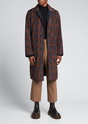 Dries Van Noten Men's Ryd Nylon Reversible Raincoat