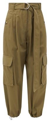 Lee Mathews Hutton Cotton-twill Cargo Trousers - Khaki