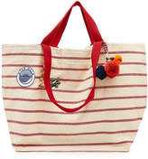 Star Mela Tami Large Striped Cotton Tote