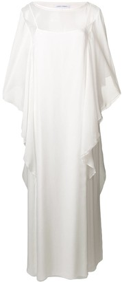 Alberta Ferretti Full Length Draped Dress