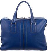Tod's Pebbled Leather Messenger Bag