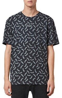 AllSaints Bonds Cotton Printed Tee