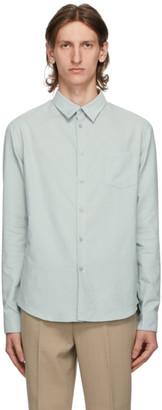 Kenzo Green Corduroy Slim Fit Shirt