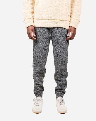 Express Brooklyn Cloth Heat Sealed Zip Cozy Knit Jogger Pants