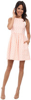 Jessica Simpson Coral Overlay Dress