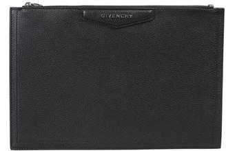 Givenchy Antigona Zipped Clutch Bag