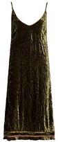 Thumbnail for your product : R 13 Back Tie Slip Spaghetti Strap Dress