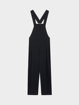 DKNY Pure Oversized Apron Pleated Jumpsuit