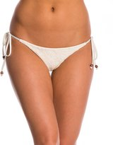 Blue Life Boho Bride Tribal Tie Side Bikini Bottom 8144690