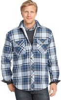 Izod Men's Heavy Twill Shirt Jacket
