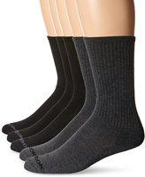 Reebok Men's 5 Pack Performance Basic Crew Sock