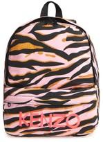 Kenzo Girl's Logo Backpack - Pink