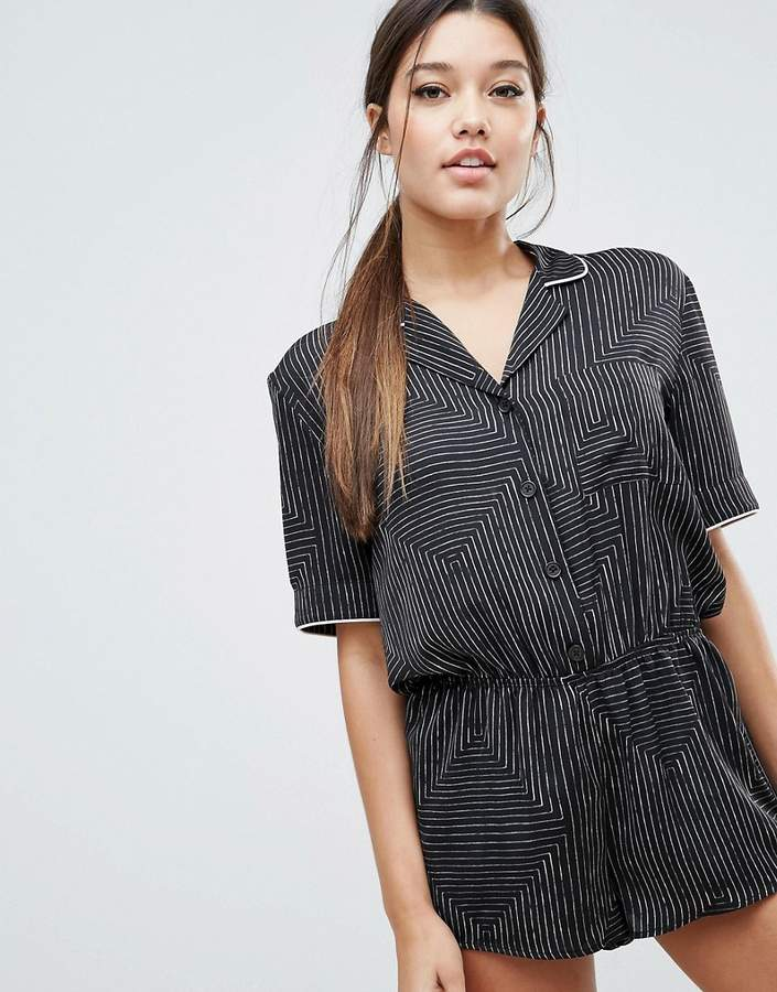 DKNY The Match Up Romper