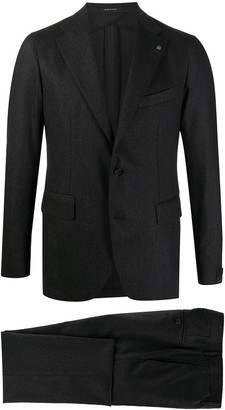 Tagliatore Single-Breasted Straight Leg Suit