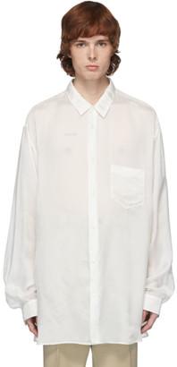 Maison Margiela Off-White Cupro Shirt