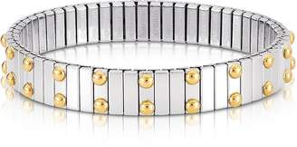 Nomination Beads Stainless Steel w/Golden Studs Women's Bracelet