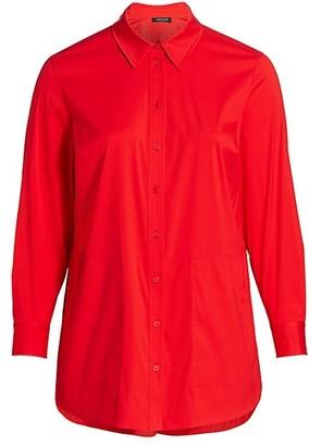 Lafayette 148 New York, Plus Size Michelle Shirt
