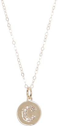 Ron Hami 14K Yellow Gold Initial Necklace
