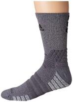 adidas Creator 365 Crew Sock (Onix/Light Onix Marl/Black) Crew Cut Socks Shoes