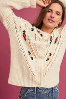 Intropia Mairead Embroidered Cardigan