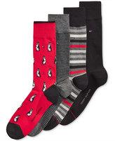 Tommy Hilfiger Men's 4-Pk. Penguin Socks