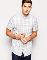 Jack Wills Shirt With Check Short Sleeves