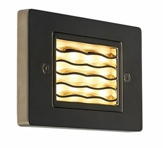 Bruck Lighting Step 1 - Hardwired LED Step Light Color: Bronze, Color Temperature: 300K