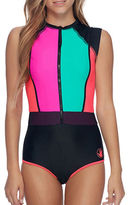 Body Glove Borderline Colorblock Paddle One-Piece