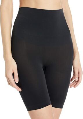 Yummie Women's Harlo Seamless Mid Waist Thigh Shaper Shapewear