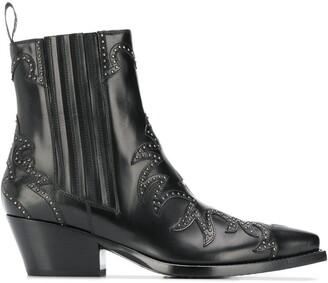 Sartore stud-embellished ankle boot