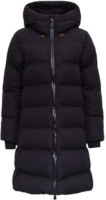 Save The Duck Ecological Long Down Jacket With Hood