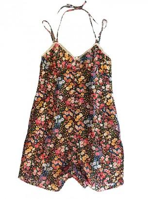 Les Petites Multicolour Cotton Jumpsuit for Women