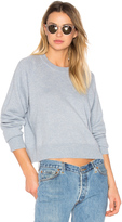 Alexander Wang Cashwool Crewneck Crop Sweater