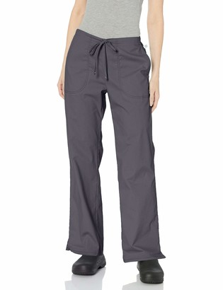 Code Happy Women's Bliss Mid-Rise Moderate Flare Drawstring Pant with Certainty