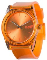 Neff NF0237-ORNG Men's Stainless polyurethane Band Dial Smart Watch