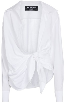Jacquemus La Chemise Bahia cotton shirt