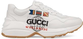 Gucci Women's Rhyton Worldwide sneaker