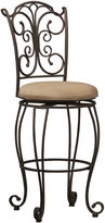 Linon Metal Gathered-Back Barstool