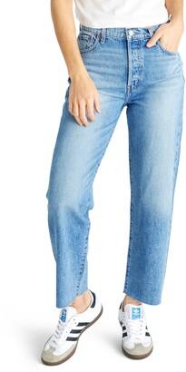 ÉTICA Tyler High Waist Straight Leg Ankle Jeans
