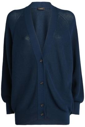 Akris Knitted Raglan Sleeve Cardigan