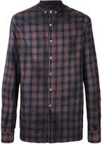 Lanvin classic checked shirt - men - Cotton - 41