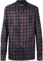Lanvin classic checked shirt