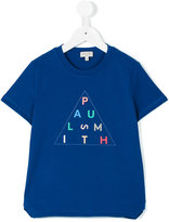 Paul Smith logo print T-shirt - kids - Cotton - 6 yrs